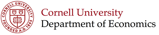 Cornell University, Department of Economics
